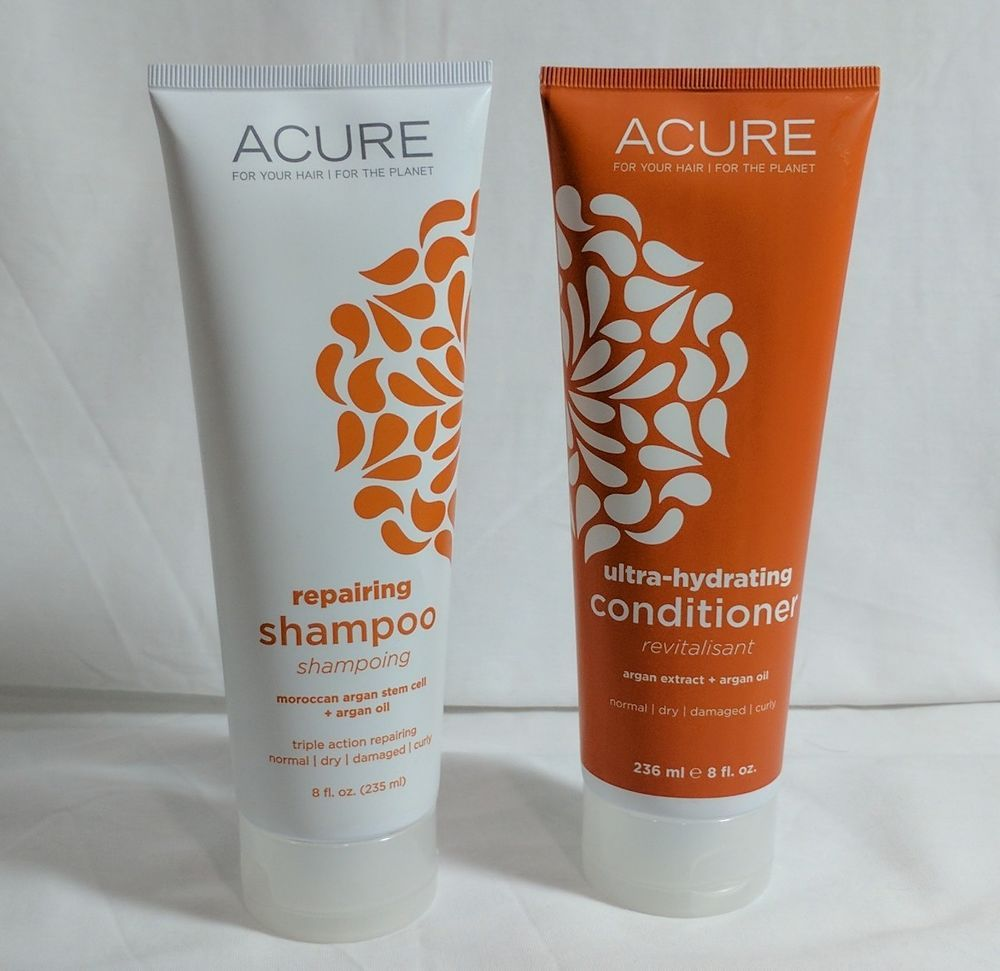 Acure Argan Oil Shampoo And Conditioner #Acure