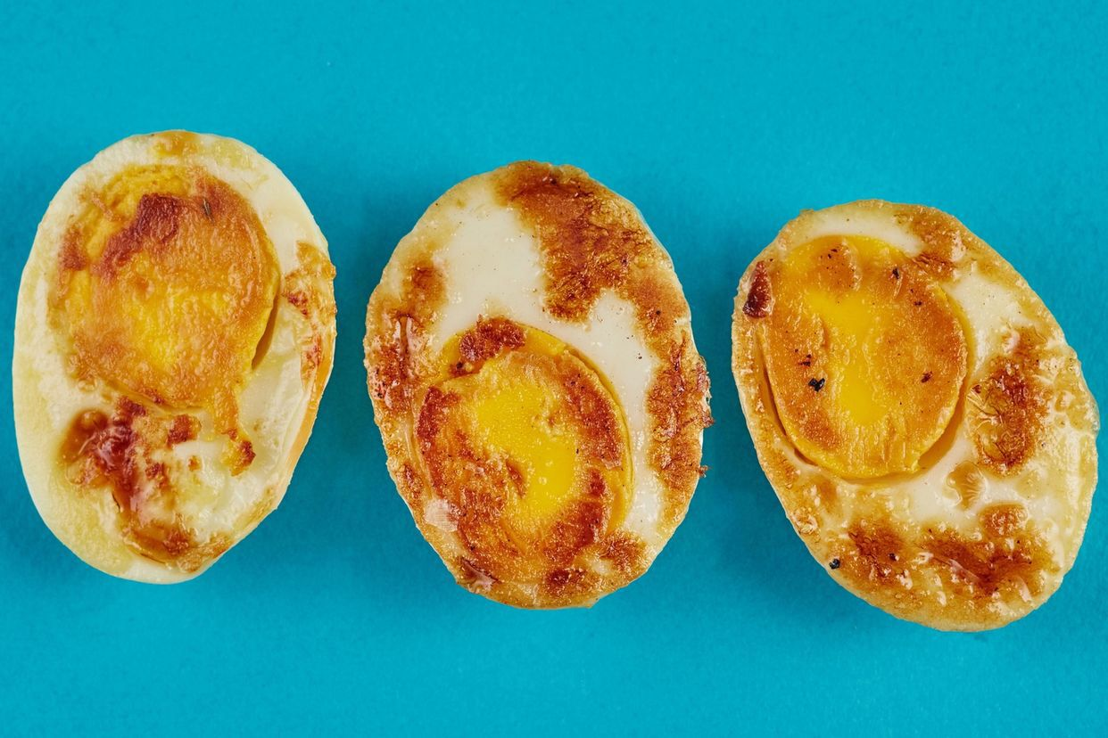 Sear Your Hard-Boiled Egg for a Healthy Snack — 10 Ways to Upgrade a Hard-Boiled Egg