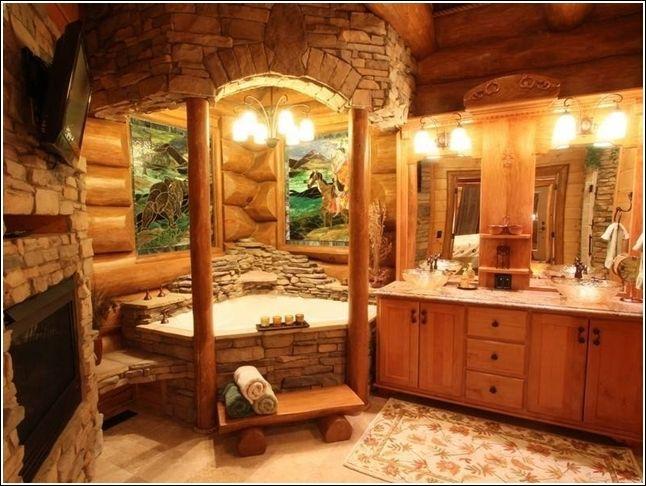 Bagni Di Lusso In Muratura : Vasche da bagno in muratura cerca con google baie log cabin
