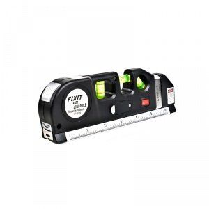 Diy Multi Tool Pro Vertical Line Laser Level Horizontal Vertical Aligner Tape Measure And Ruler Pinterest
