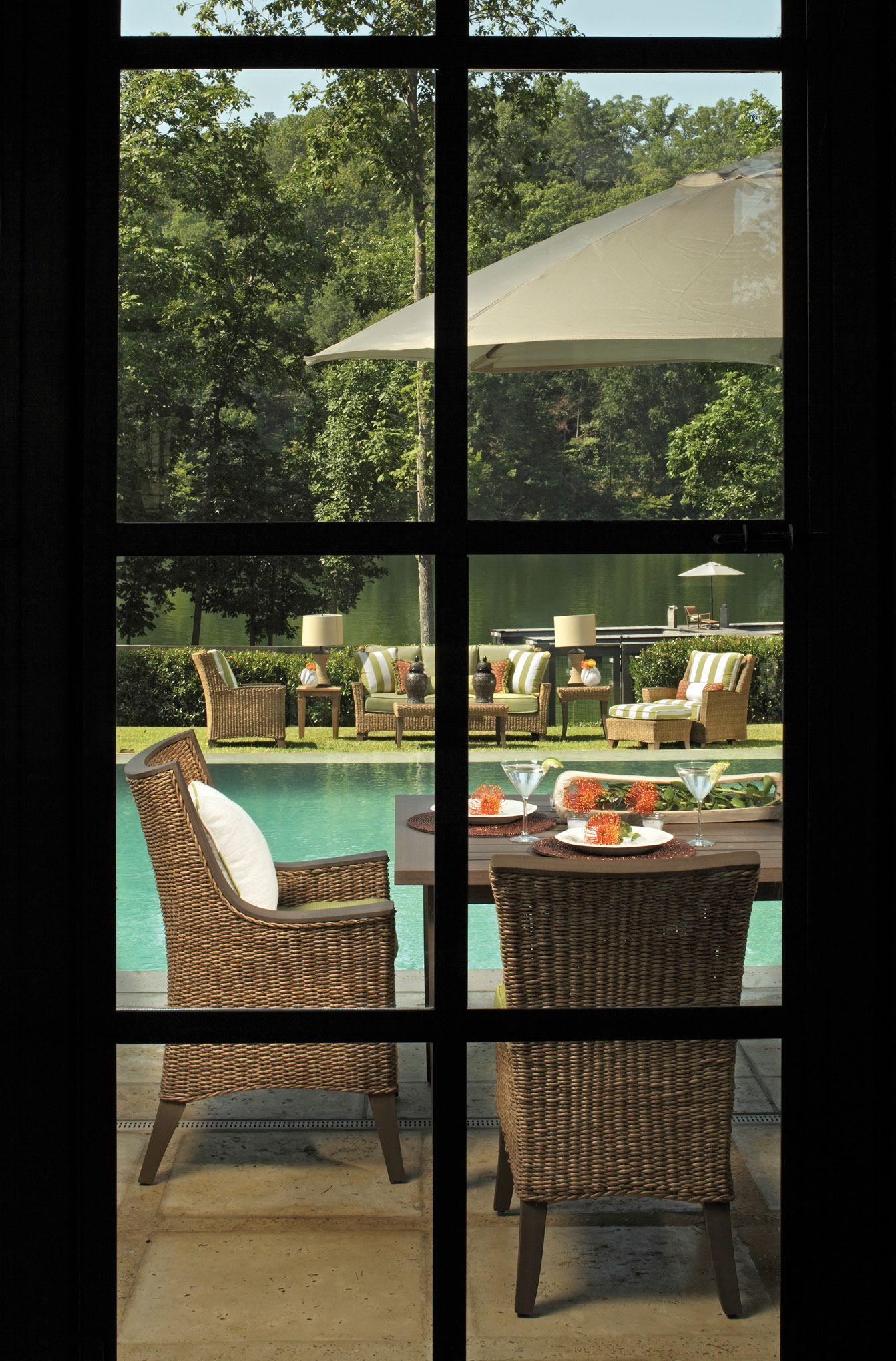 You Can Look Through Your Window And Find Summer Classics Royan Outdoor  Furniture Collection. # · Gartenmöbel SetEisen GartenmöbelStrand ...