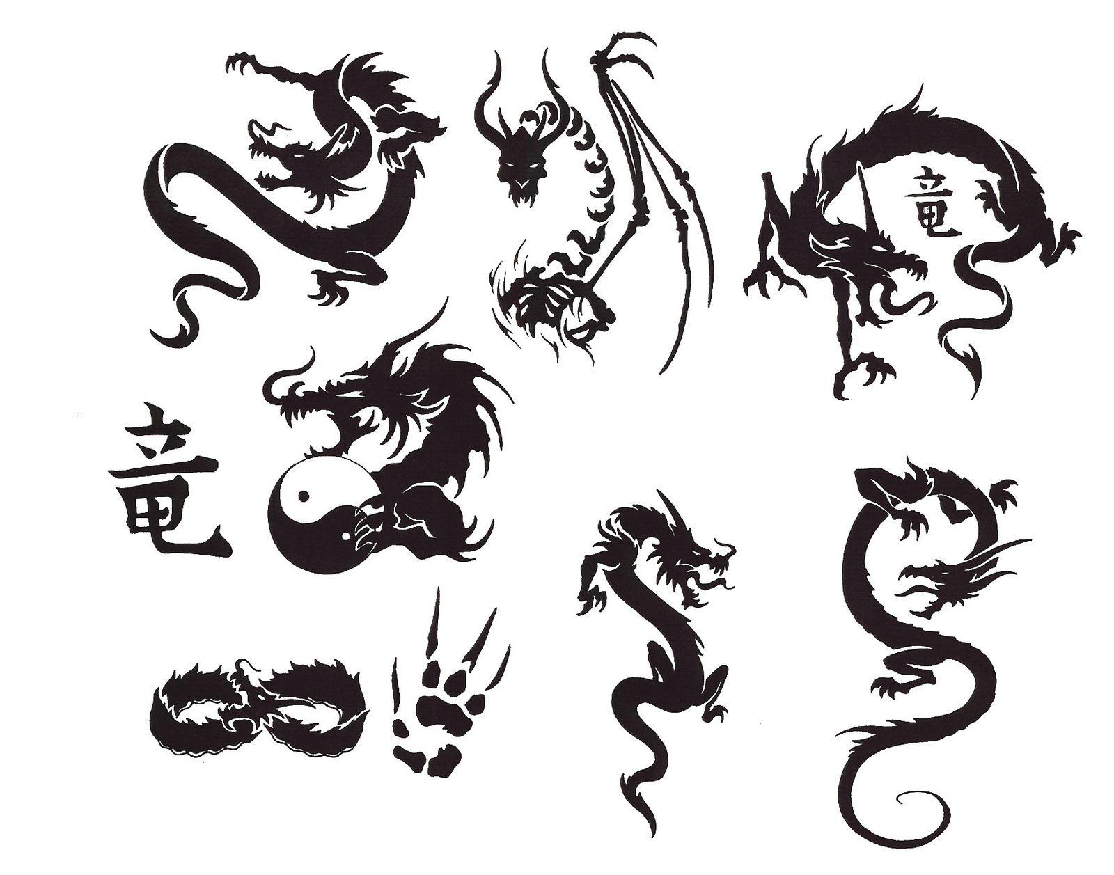 Japanese Tattoo Japanese Tattoo Small Dragon Tattoos Dragon Tattoo Stencil