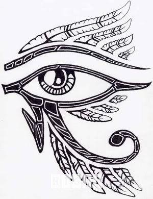 Egyptian Horus Eye Tattoo Design Idea Tattoo Splendiferous
