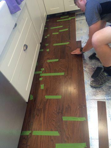 Installing Wood Floors Over Old Tile Wood Tile Floors Diy Wood Floors Installing Laminate Flooring