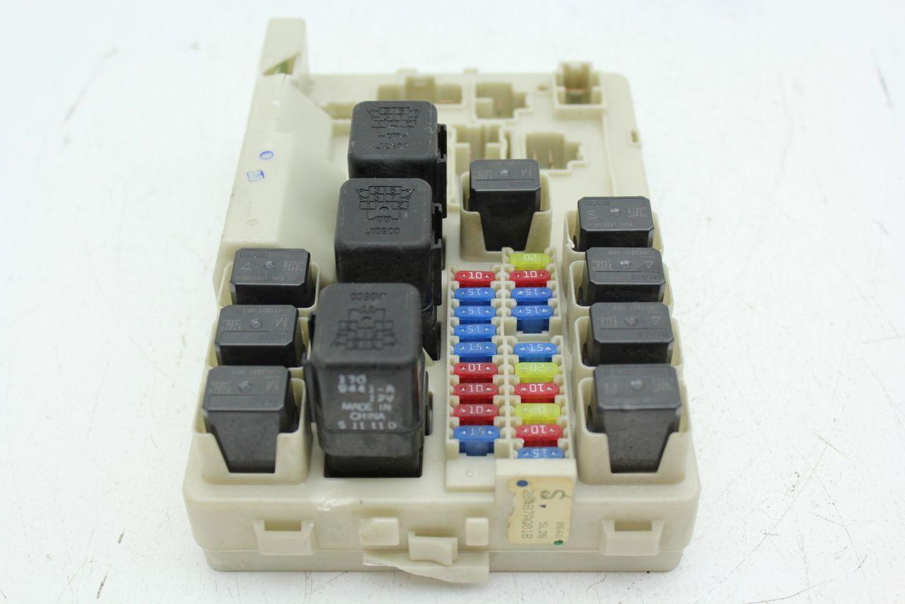 fuse box in infiniti g35 05 07 infiniti g35 284b7aq01b fusebox fuse box relay unit module  fusebox fuse box relay unit module