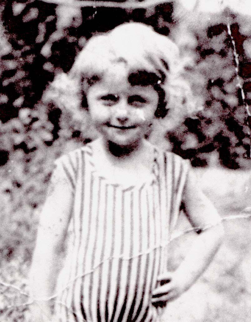Ana Khana Rosenfeld 1934 In Kishinev Romania Murdered At Age 7