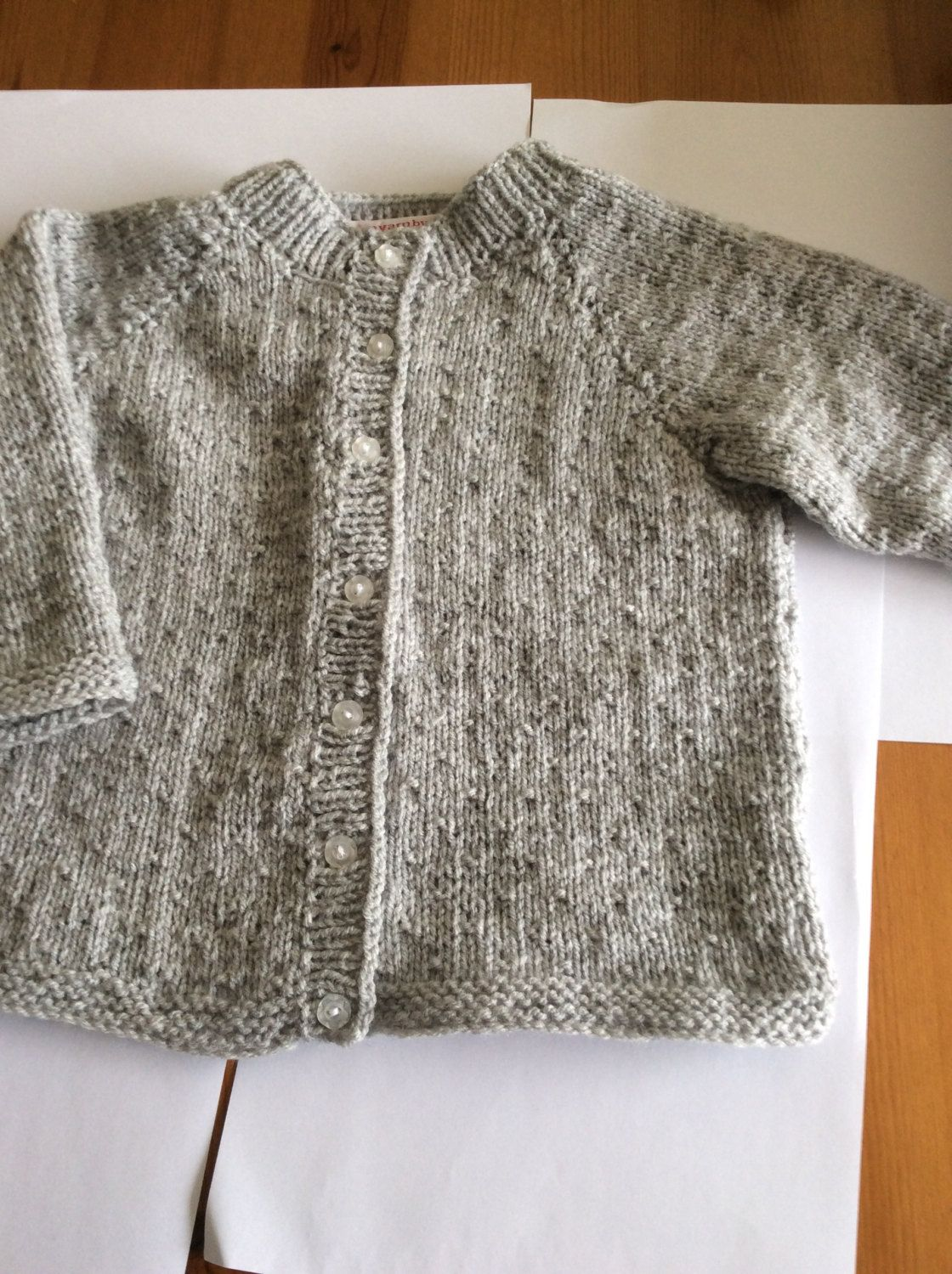 38c76d11e Knitted baby girl Cardigan