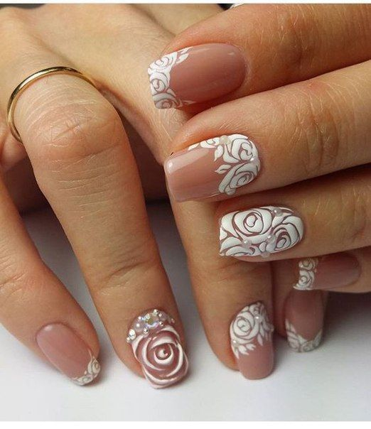 Маникюр | Видеоуроки | Art Simple Nail | Diseños uñas | Pinterest ...