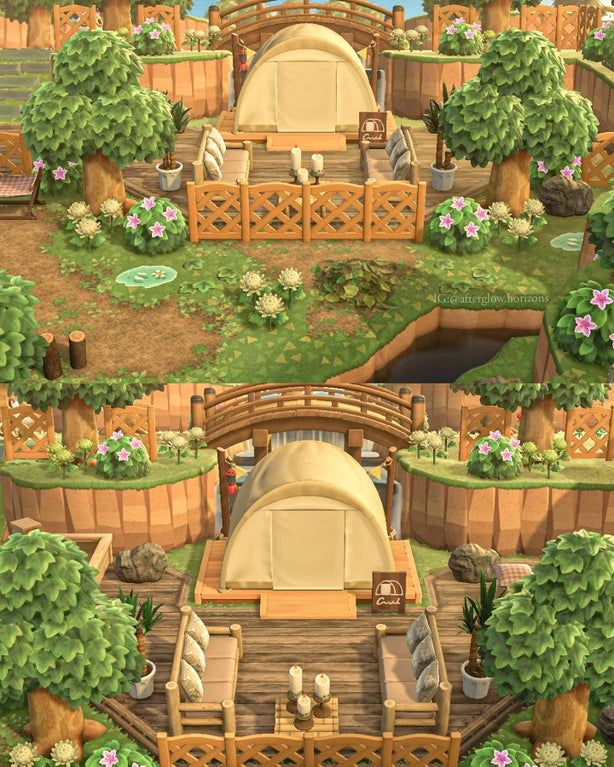 Happy with how my new campsite turned out 💛