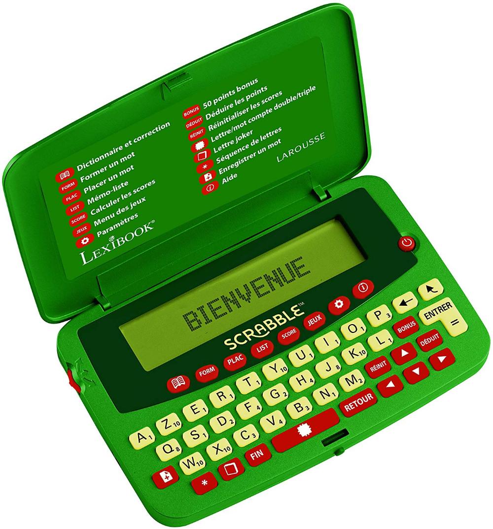 Lexibook Scf 428fr Dictionnaire Electronique Officiel Du Jeu De Scrabble Ods7 Larousse Fisf Arbitre Correcteur D Orthographe 400 Jeu Scrabble Jeux Scrabble