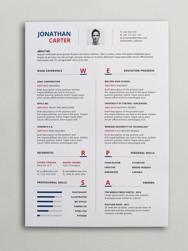Modern Resume Template Psd Word Resume Template Word Free Resume Template Word Modern Cv Template