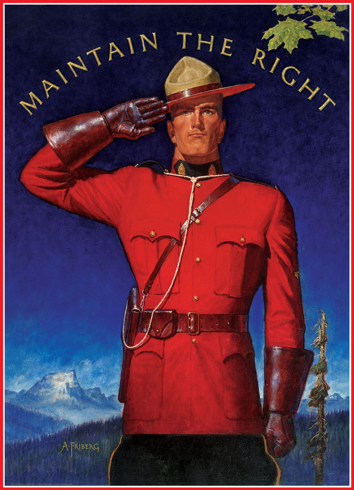 Royal Canadian Mounted Police Maintain The Right With Images