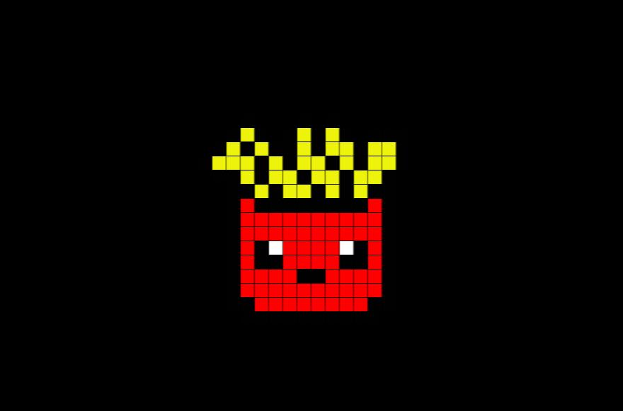 Epingle Par Ines Rocha Sur Pixel Art Coloriage Pixel Pixel Art Frite Coloriage Pixel Art