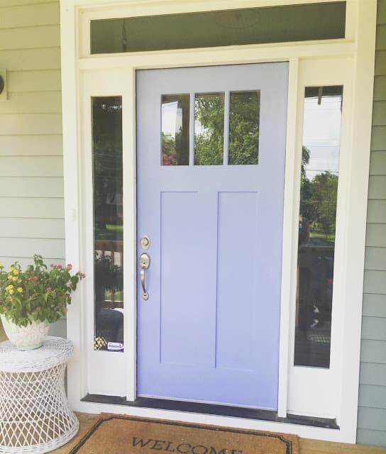 Front Door Makeovers in Coastal Blues - Seas Your Day