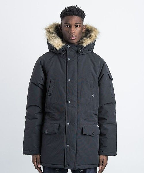 Carhartt anchorage parka black medium