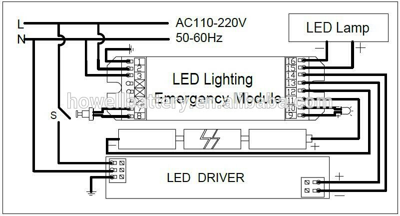 Emergency Lighting Wiring Diagram