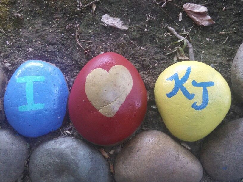 Rocks with messages!