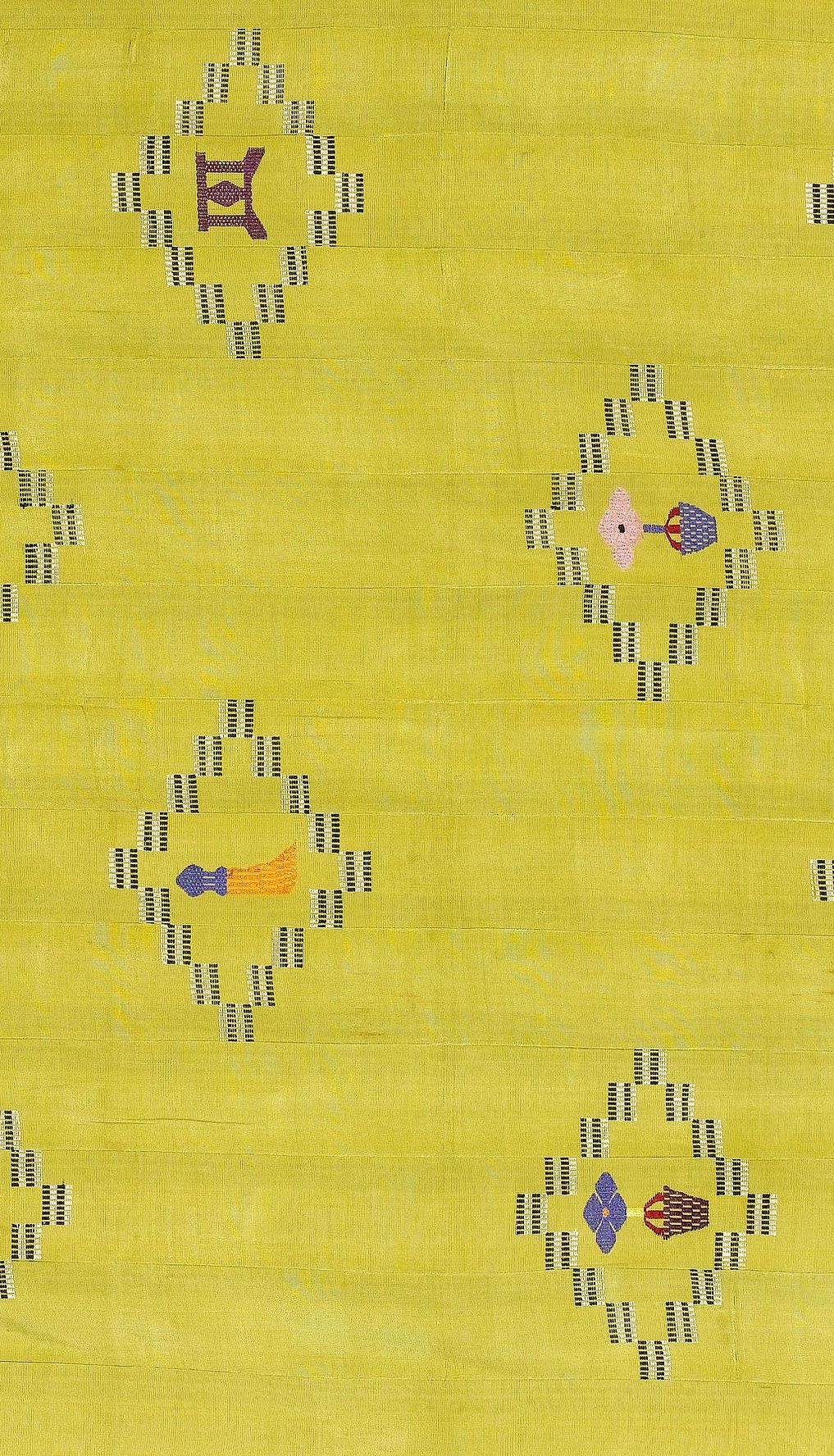 Africa   Detail from a cloth from the Ewe people of Ghana