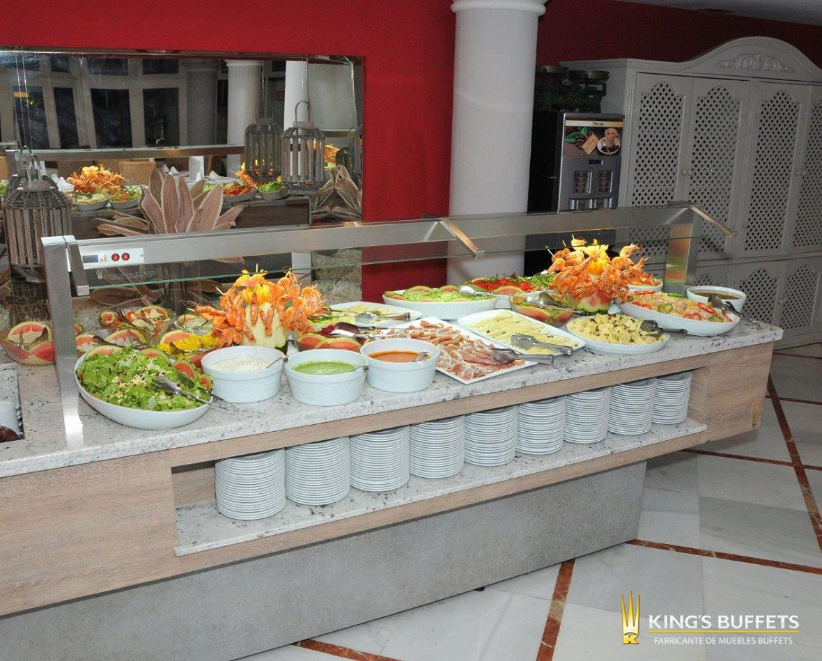Venta de muebles buffets para hoteles y restaurantes. Distribución e ...