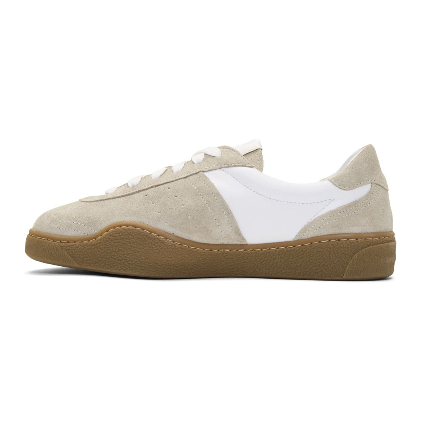 Acne Leather Lars Sneakers Cheap Price In China hvdX9U