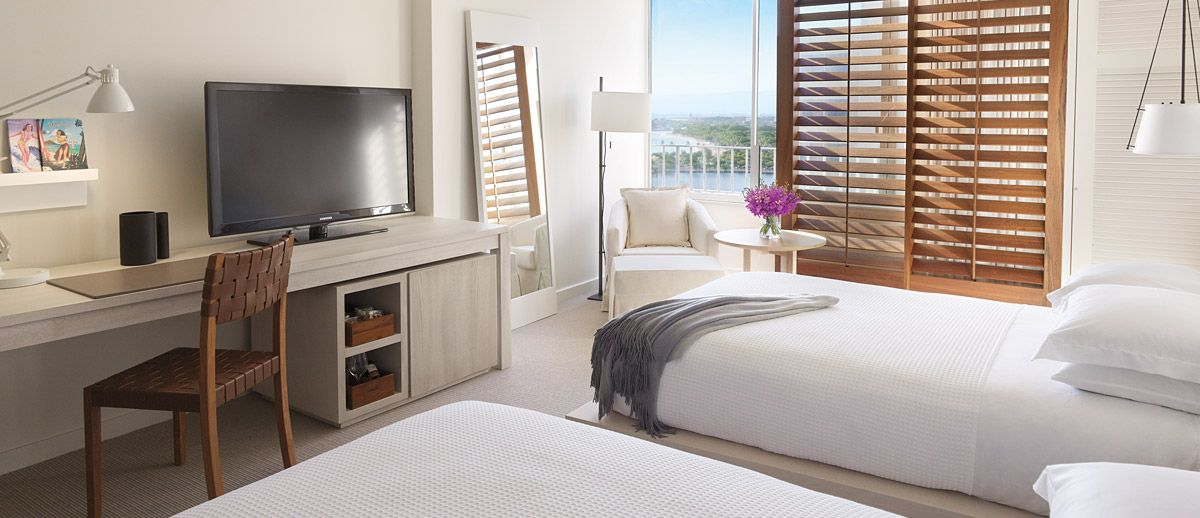 The Modern Honolulu Hawaii With Images Hotel Style Bedroom Modern Honolulu Modern Hotel Room