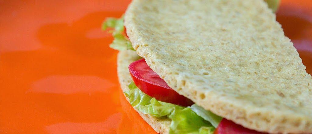 Pão de microondas sem farinha -Super Fácil!