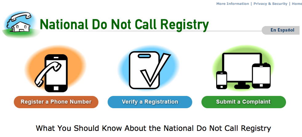How To Get On The Do Not Call Register