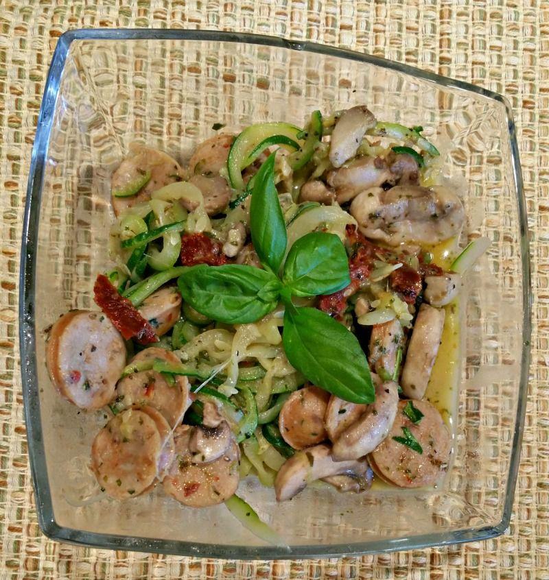 Chicken Sausage Zucca – A Busy Woman Recipe | Danna Demetre