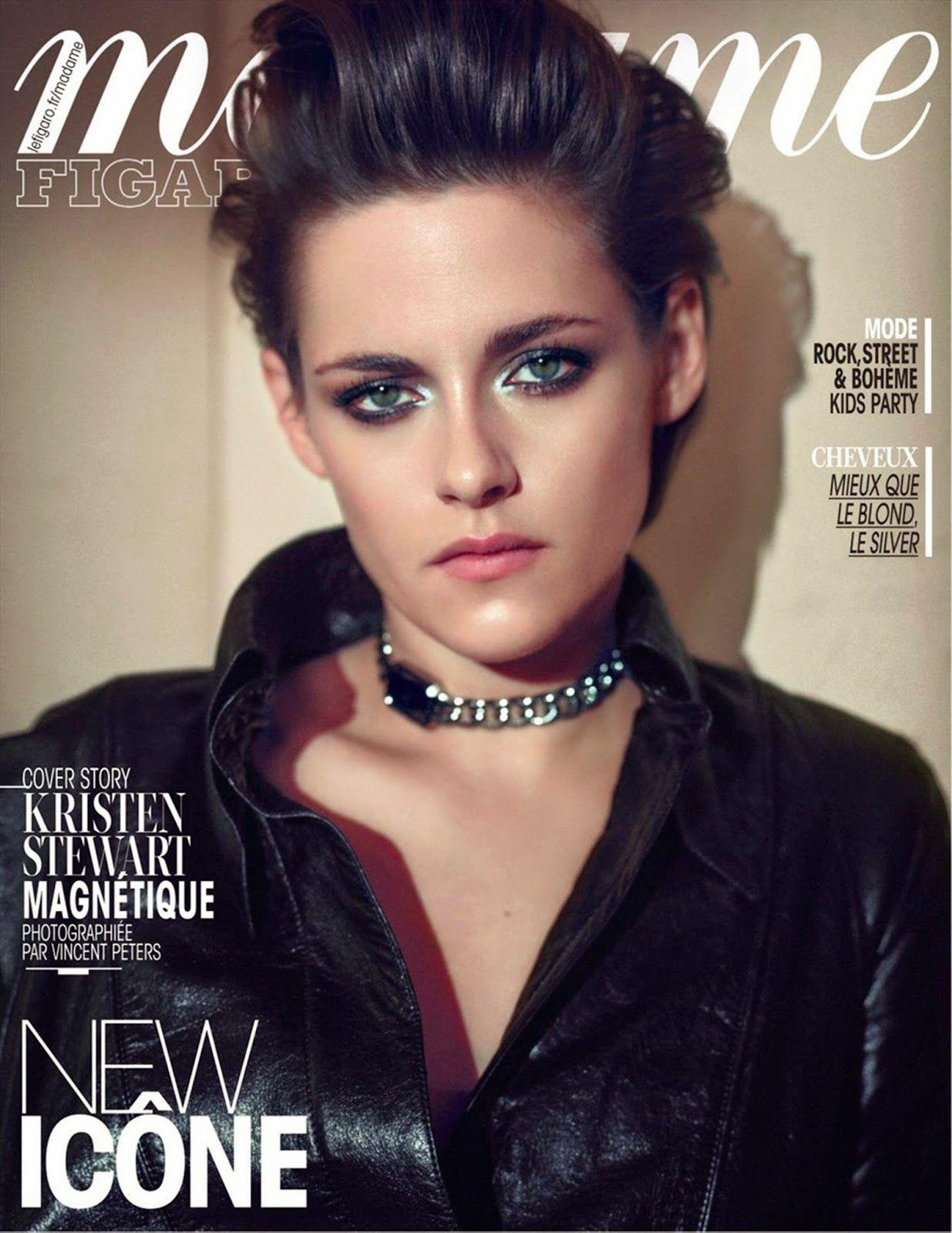 Duchess Dior: Kristen Stewart in Chanel by Peter Vincent for Madame Figaro