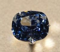 "Bluemoon Diamond  ""Natural History Museum of Los Angeles County"""