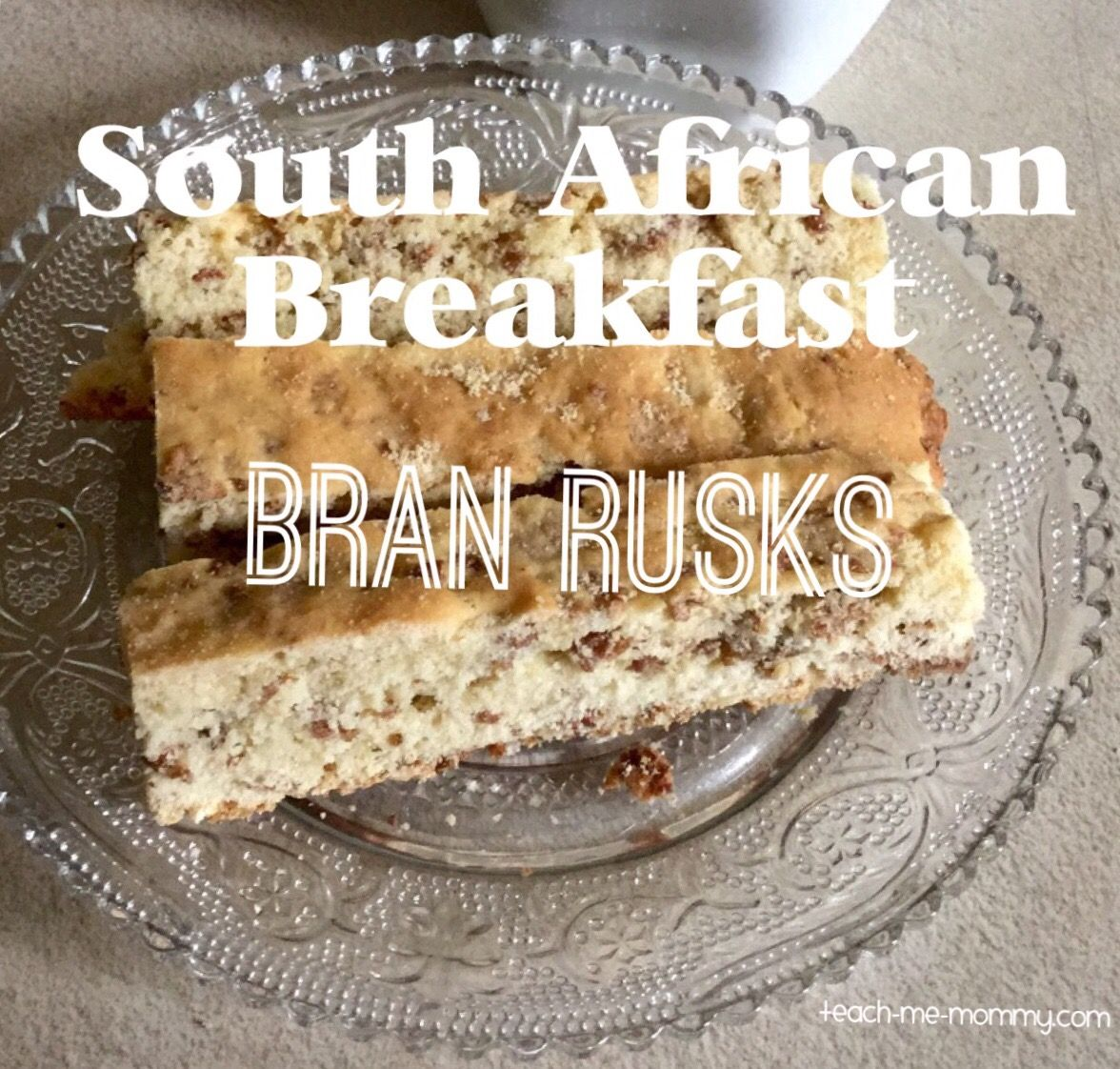 Ever Wondered What South Africans Eat For Breakfast Bran Rusks With Recipe Rusk Recipe Baby Rusk Recipe South African Rusks