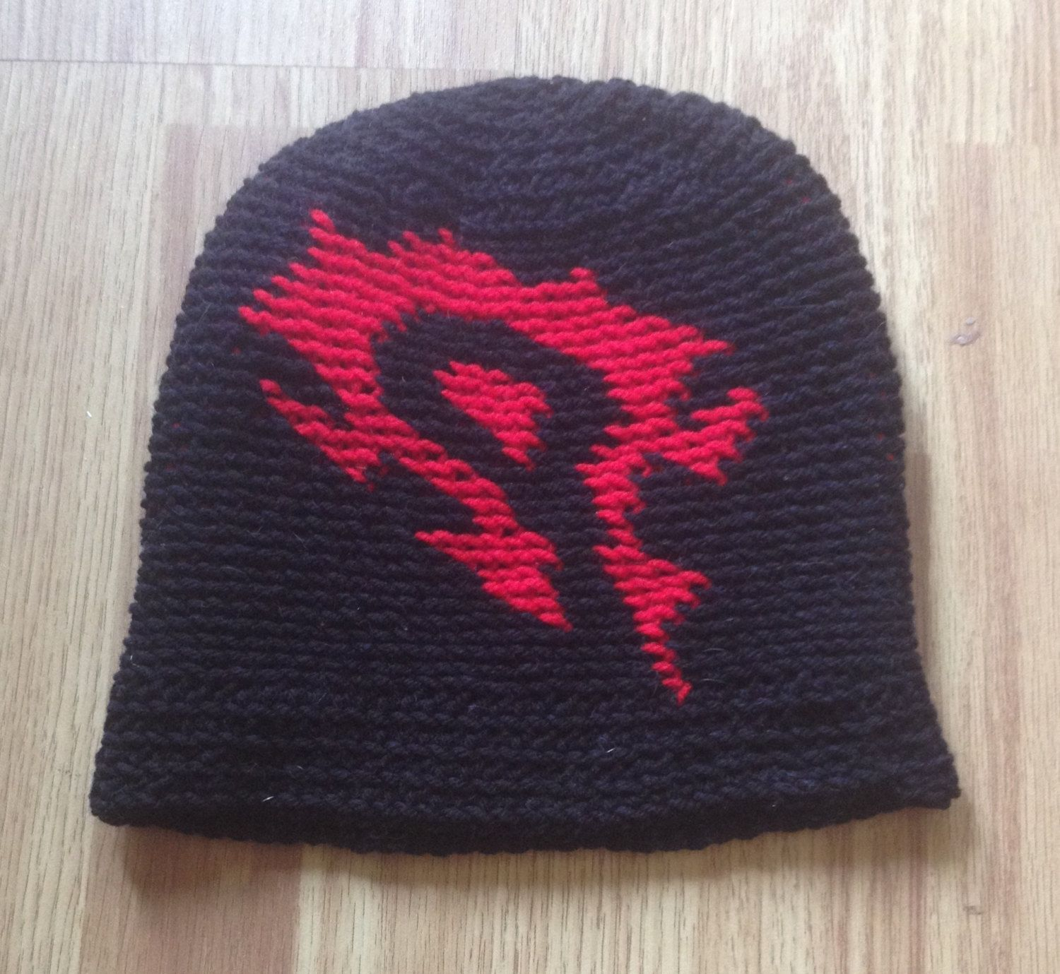 World of Warcraft Inspired Horde Crochet Slouch Beanie by WoollyRhinoCrafts  on Etsy https    ff3187b046a