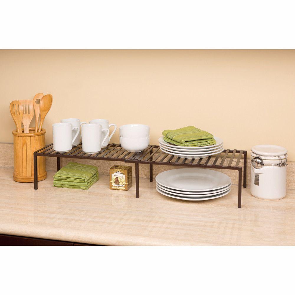 Seville Clics Expandable Kitchen Cabinet Helper Shelf