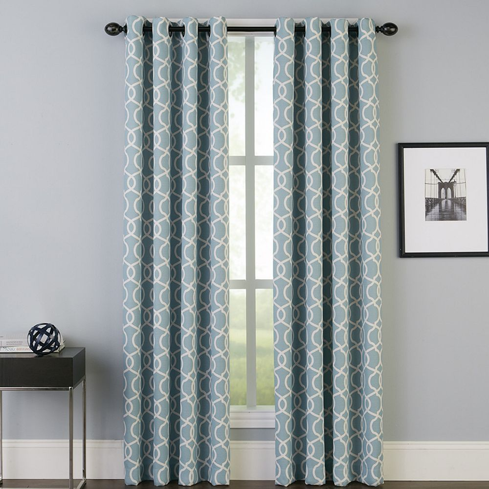 Peri 1 Panel Interlace Window Curtain In 2019 Products