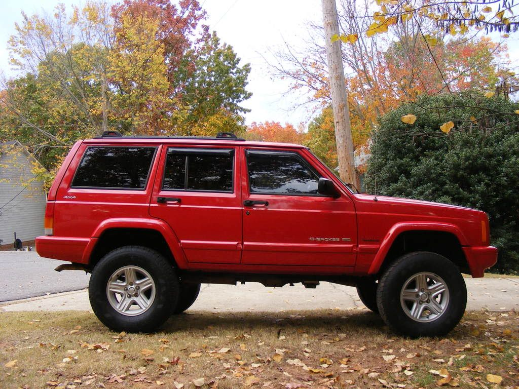 2001 cherokee limited rusty s full leaf lift on icons w same w 1993 cherokee rustys longarm kit on tsls