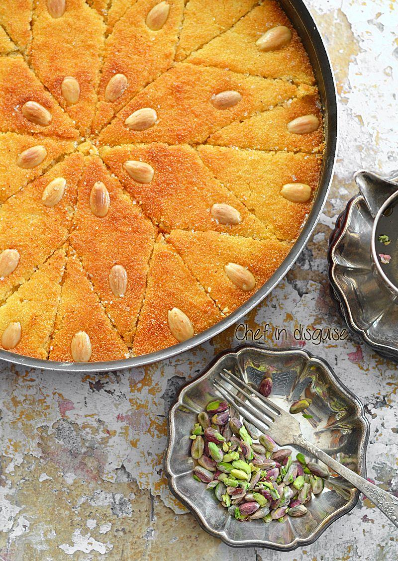 Arabic semolina cakeg sermenal cake pinterest middle arabic semolina cakeg forumfinder Images
