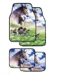 Horse Car Floor Mats Love Of Horses Pinterest Horse And Cars