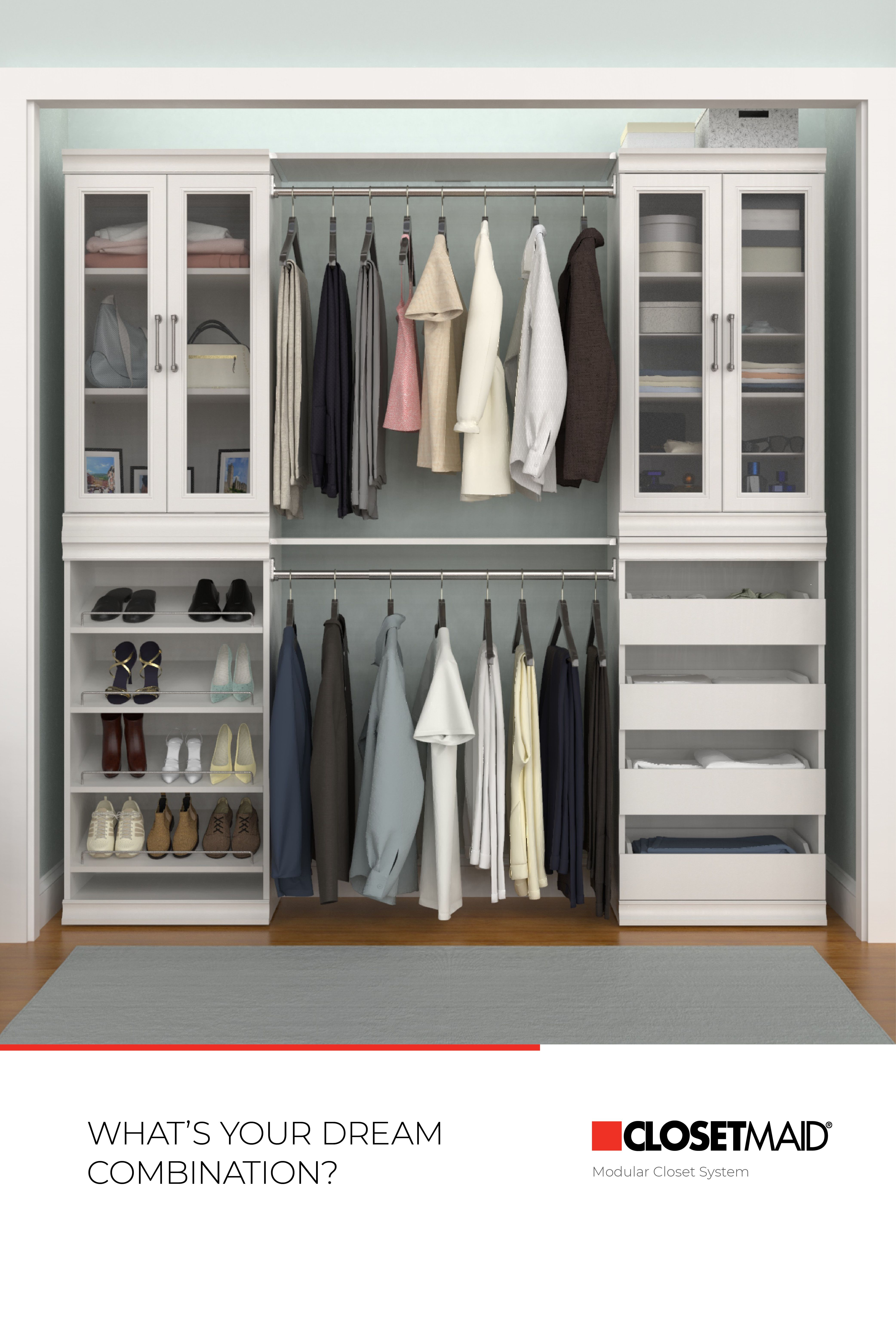 Create A Closet That Fits Your Needs With Our New Easy To