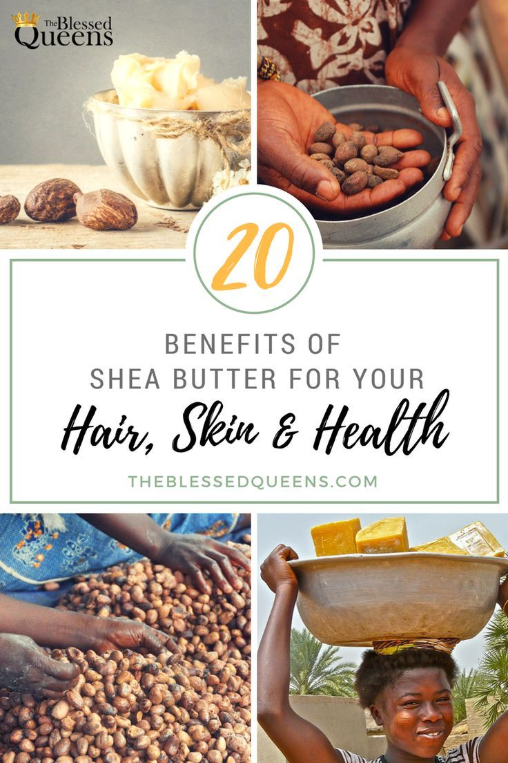 Benefits of shea butter for hair skin and health