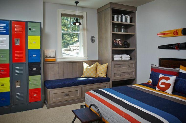 mueble estantes diseño clásico dormitorios Pinterest - diseo de habitaciones para nios