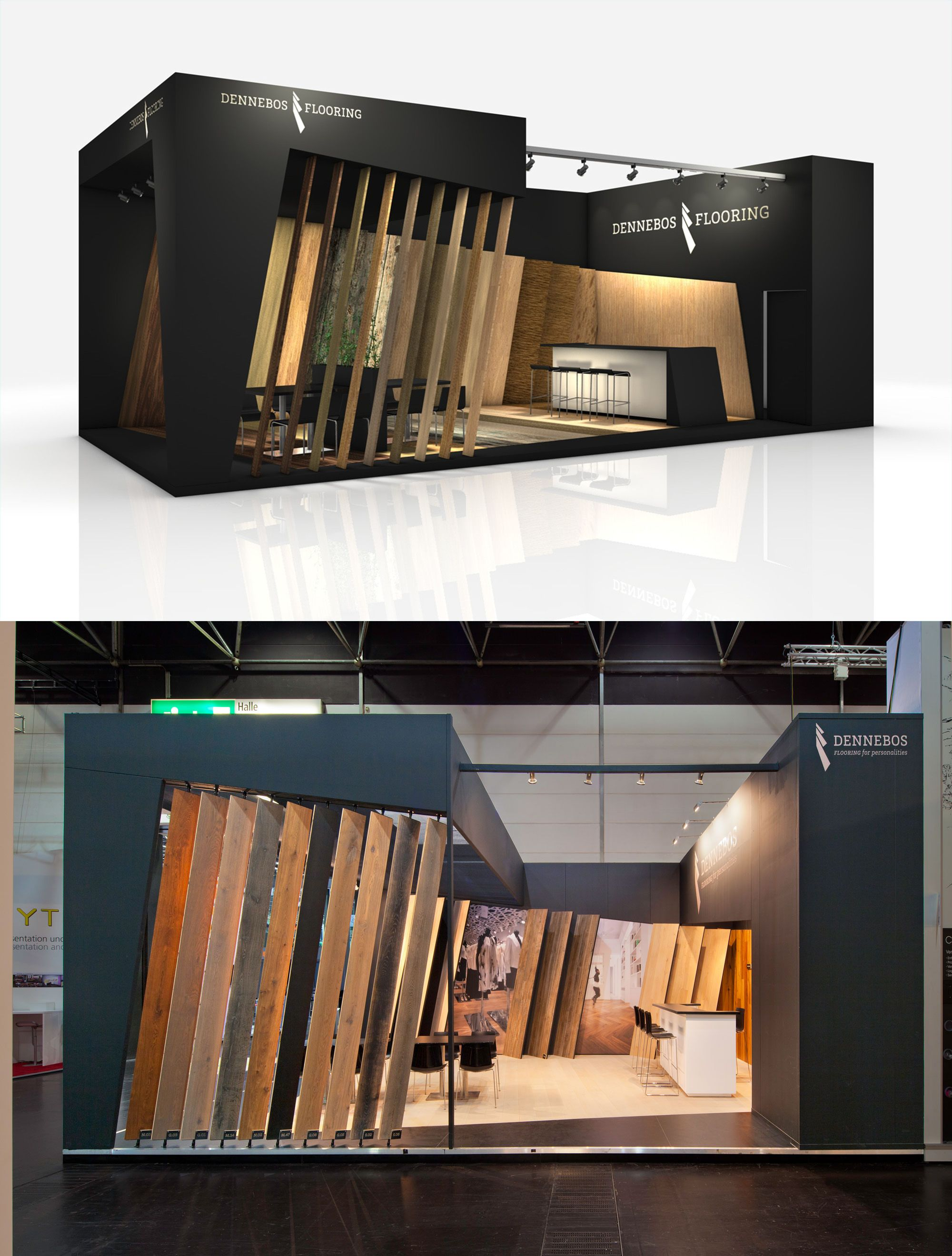 D Printing Exhibition Germany : Exhibition stand design from the inside standbuilding at