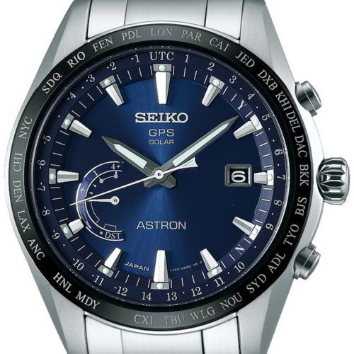 more photos 7aff3 9cd91 Details about Seiko Astron GPS Solar Chronograph Men's Watch ...