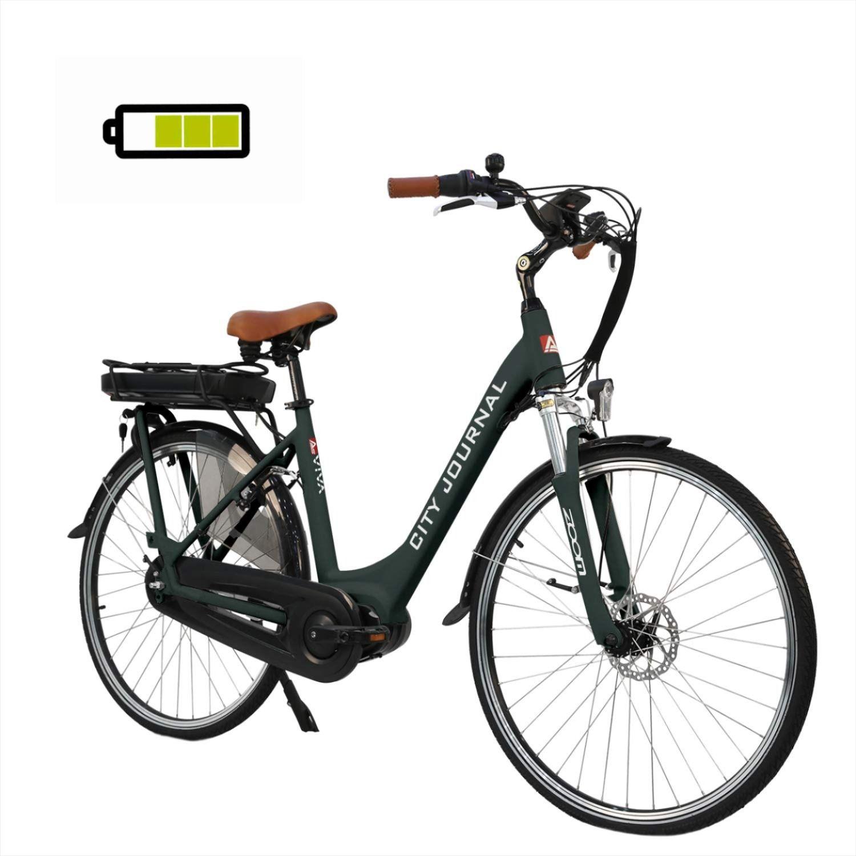 Asviva E Bike Hollandrad 28 City Tiefeinsteiger B14 Grau 36v 13ah
