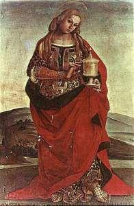 """Maria Maddalena e il Sacro Graal """"Una damigella teneva un graal tra le sue mani (...) Era fatto di oro puro, e c'erano nel graal molte preziose pietre, le più belle e le più costose che ci siano per terra e per mare"""""""