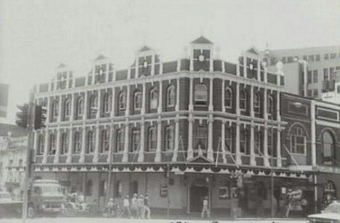 The Agincourt Hotel At The Corner Of Harris And George Streets