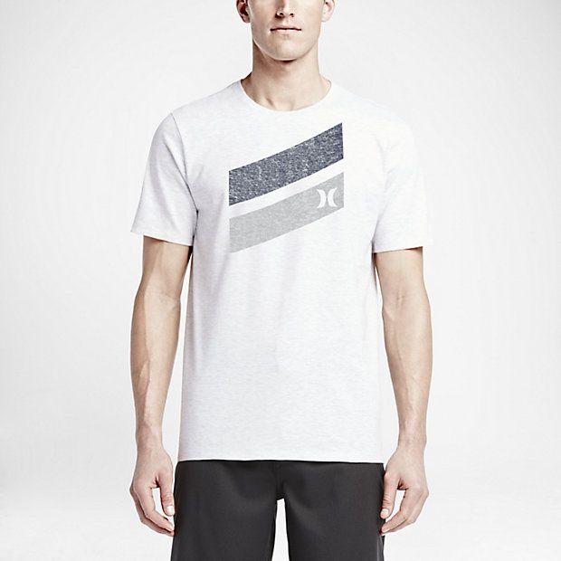 Hurley Icon Slash Push Through Men s T-Shirt  80c038be343