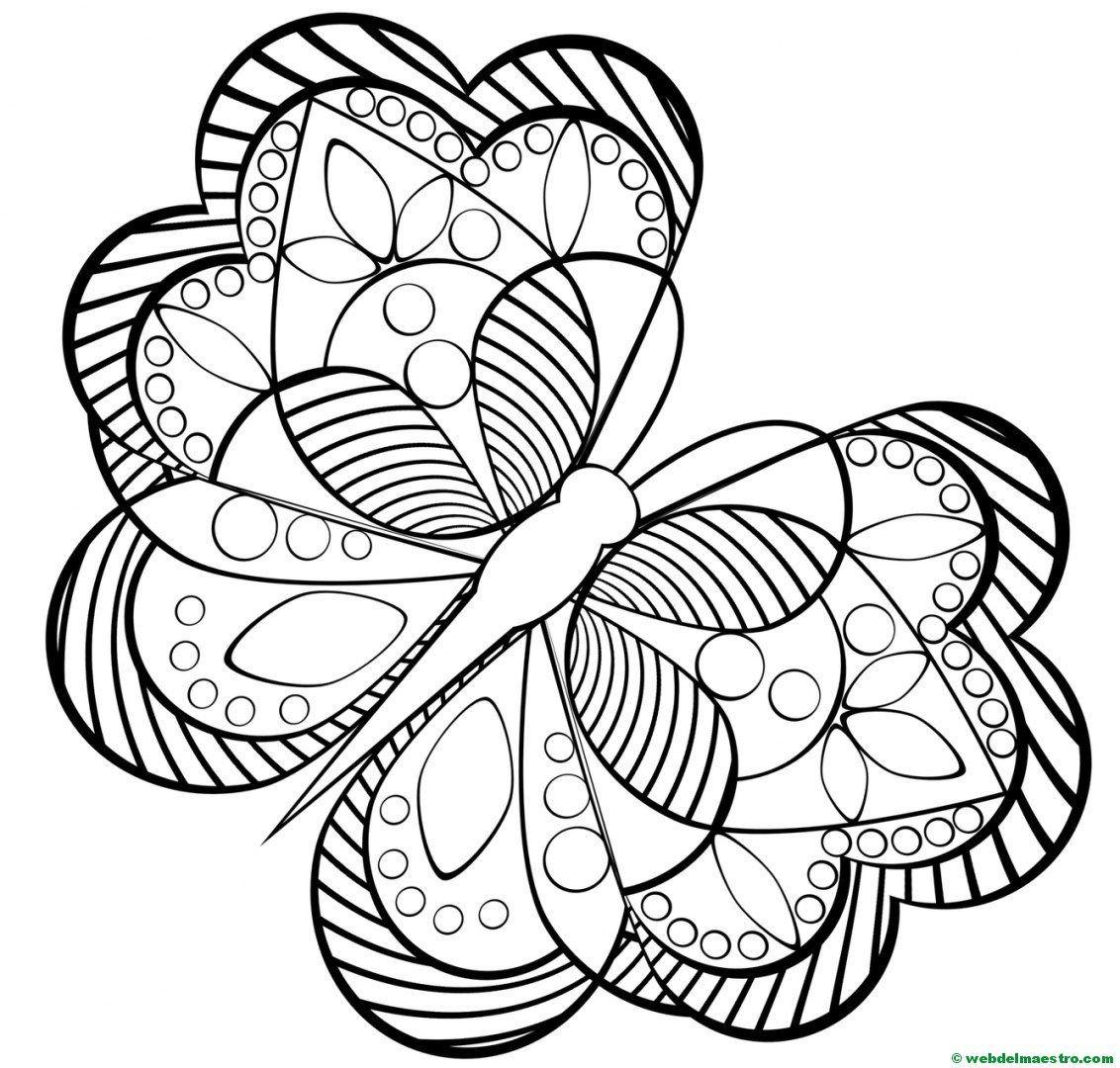 Dibujos antiestrés | Mariposas, Dibujo y Preescolar