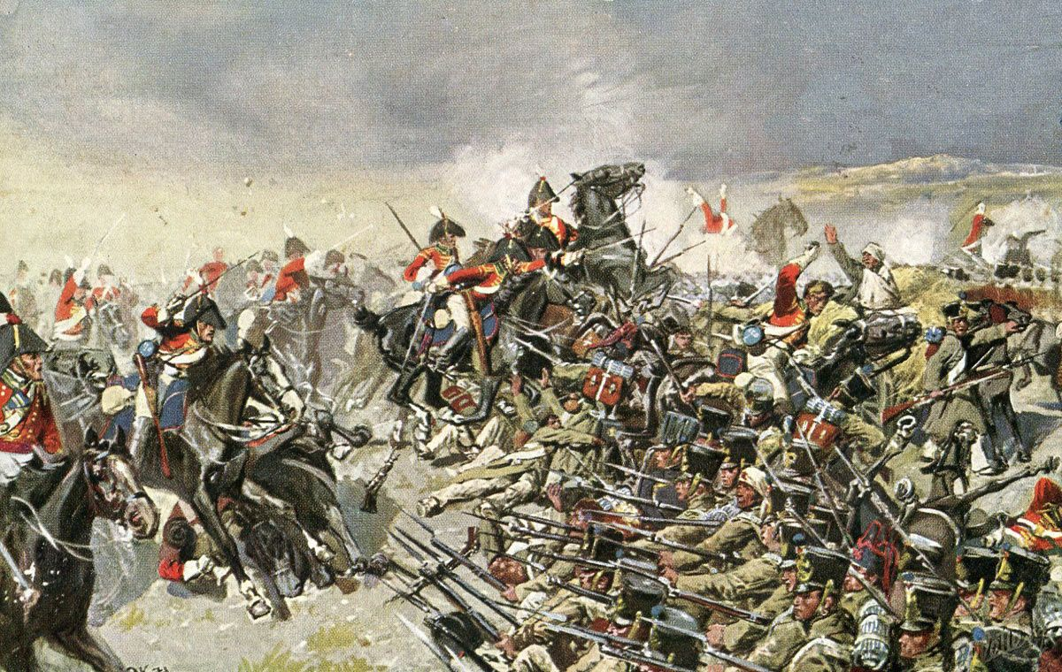 Smolensk battle of 1812 - the first serious clash of the Russian army with Napoleon