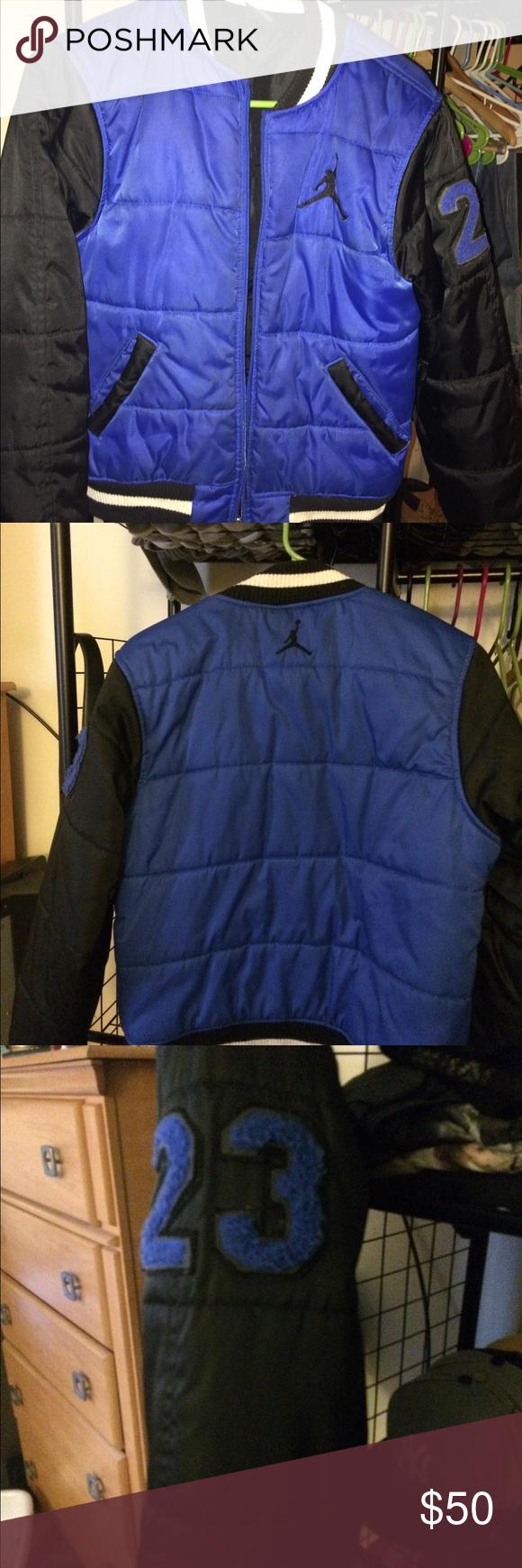 969cd93a3a9a blue boys jordan coat jordan jackets for boys
