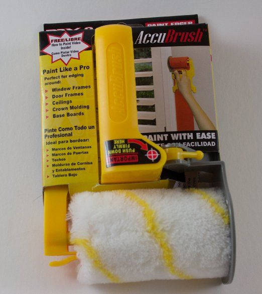Accubrush MX Paint Edger 11 piece Jumbo kit - Paint Rollers - Amazon ...